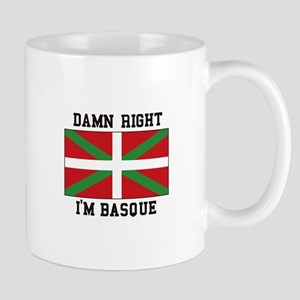Damn Right I'MBasque Mugs